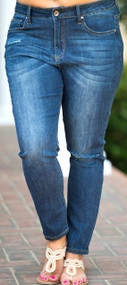 Modern Girl Jean  -  Dark Wash