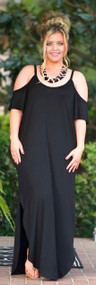 Barefoot In The Meadow Maxi - Black