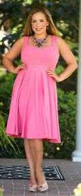 Hanging With My Peeps Dress - Pink***FINAL SALE***