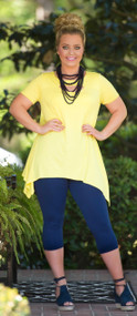 Sunny Disposition Tunic - Yellow
