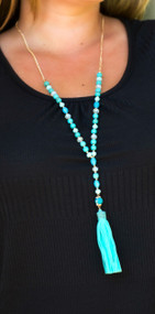 Lime In The Coconut Necklace - Turquoise