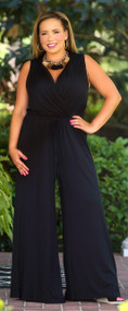 Jet Set Life Jumpsuit - Black