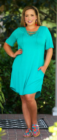 Finally Friday Dress - Jade***FINAL SALE***