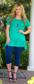 Jump And Shout Tunic - Kelly Green