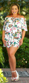 Tropical Oasis Romper