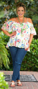 Coconut Cove Top - Ivory