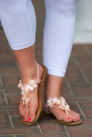 Stop And Smell The Flowers Sandal***FINAL SALE***