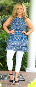 Star Struck Tunic / Dress - Navy