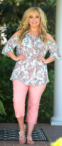Reign The Day Tunic - Mint***FINAL SALE***