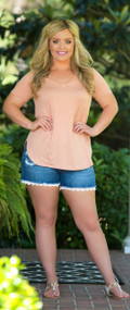 Weekend Retreat Top - Blush***FINAL SALE***