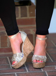 Midas Touch Wedge - Gold