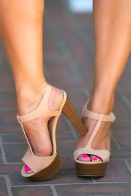 The Betsy Heel - Nude