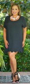 Curves Ahead Tunic / Dress - Black