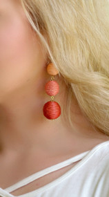 Color From Another Mother Earring - Orange
