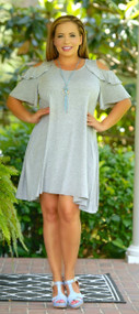 London Bridge Dress - Grey