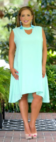 Chasing The Sun Dress - Mint ***FINAL SALE***