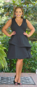 Prepped For Perfection Dress - Black