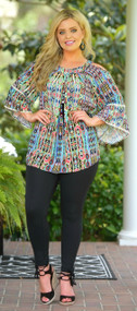 Colors Of The Wind Top***FINAL SALE***