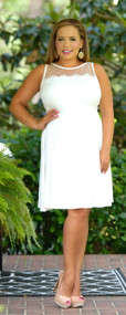 Today Is The Day Dress - Ivory
