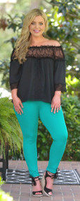 An Elegant Night Top - Black ***FINAL SALE***