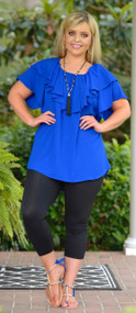 I Blue It Tunic - Royal Blue***FINAL SALE***