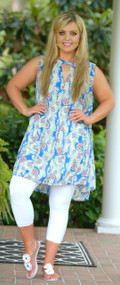 Wave Goodbye Dress / Tunic