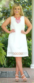 Lazer Focused Dress - Ivory