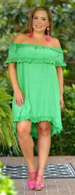 Garden Goddess Dress - Green
