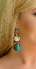 Bauble Brigade Earring - Green