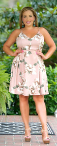 Mrs. Manners Dress - Mauve***FINAL SALE***