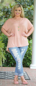 One Chic Chick Top - Blush