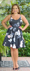 Swing Me Around Dress - Black ***FINAL SALE***