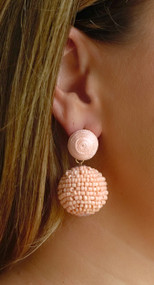 Dare To Flare Earring - Peach
