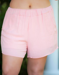 Light As Air Shorts - Blush