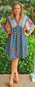 Meet Me In Morocco Dress - Multi