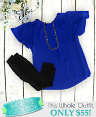 Shop The Look - Blue Without You