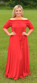 Lady In Red Maxi***FINAL SALE***