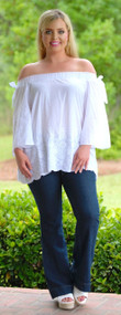 Breaking Dawn Top - White***FINAL SALE***