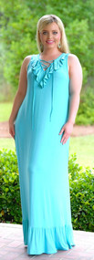 Sails Up Maxi - Mint***FINAL SALE***