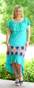 Present Tense Top - Mint***FINAL SALE***