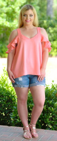 Love Lust Top - Peach