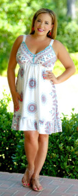 Fashion Eclipse Dress - White