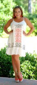Coastal Clique Dress - White