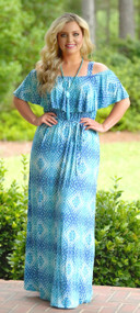 Eclipse Of The Heart Maxi - Blue