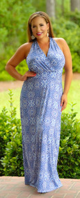 Pieces Of Me Maxi - Blue