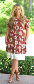 Pretty Little Peek-A-Boo Dress Extender - Ivory