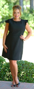 Social Butterfly Dress - Black