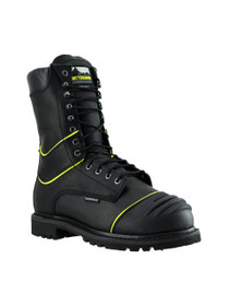 "Matterhorn 10"" Insulated Waterproof Black Mining Boot - MT900 (right angle)"