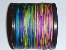 Extreme Ultra Thin Braid 80LB 500m .38mm - 10mtr colour change