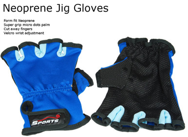 NEOPRENE JIGGING GLOVES - Hawaiian Island Designs